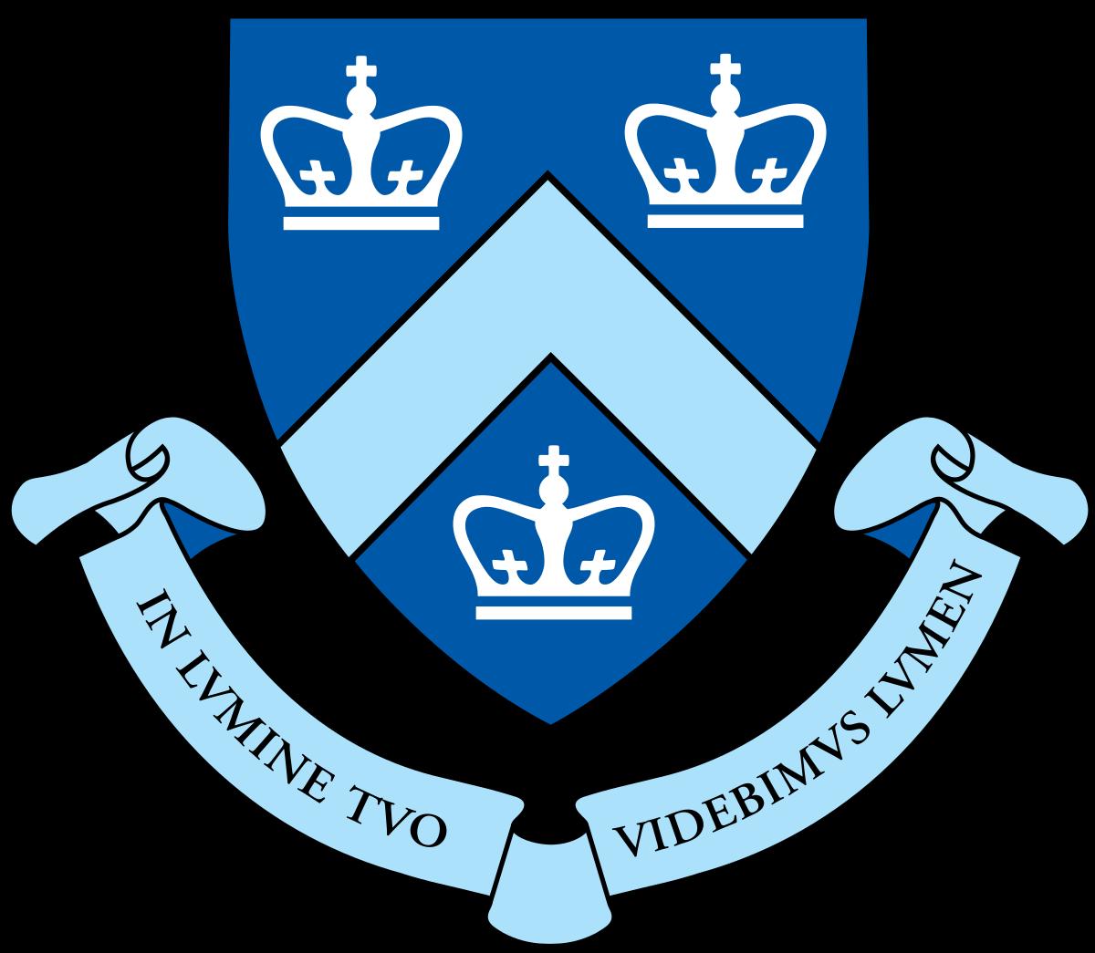 Columbia University Shield