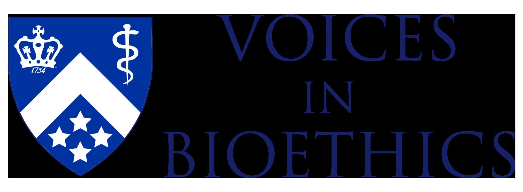 Voices in Bioethics Logo