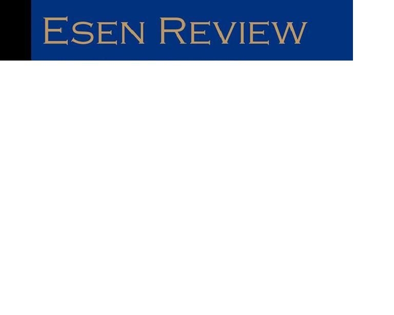 ESEN Review / Revista académica
