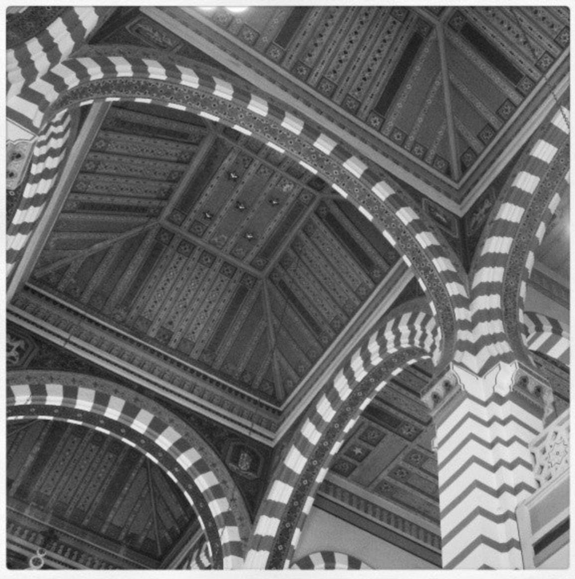 Neomoorish ceiling