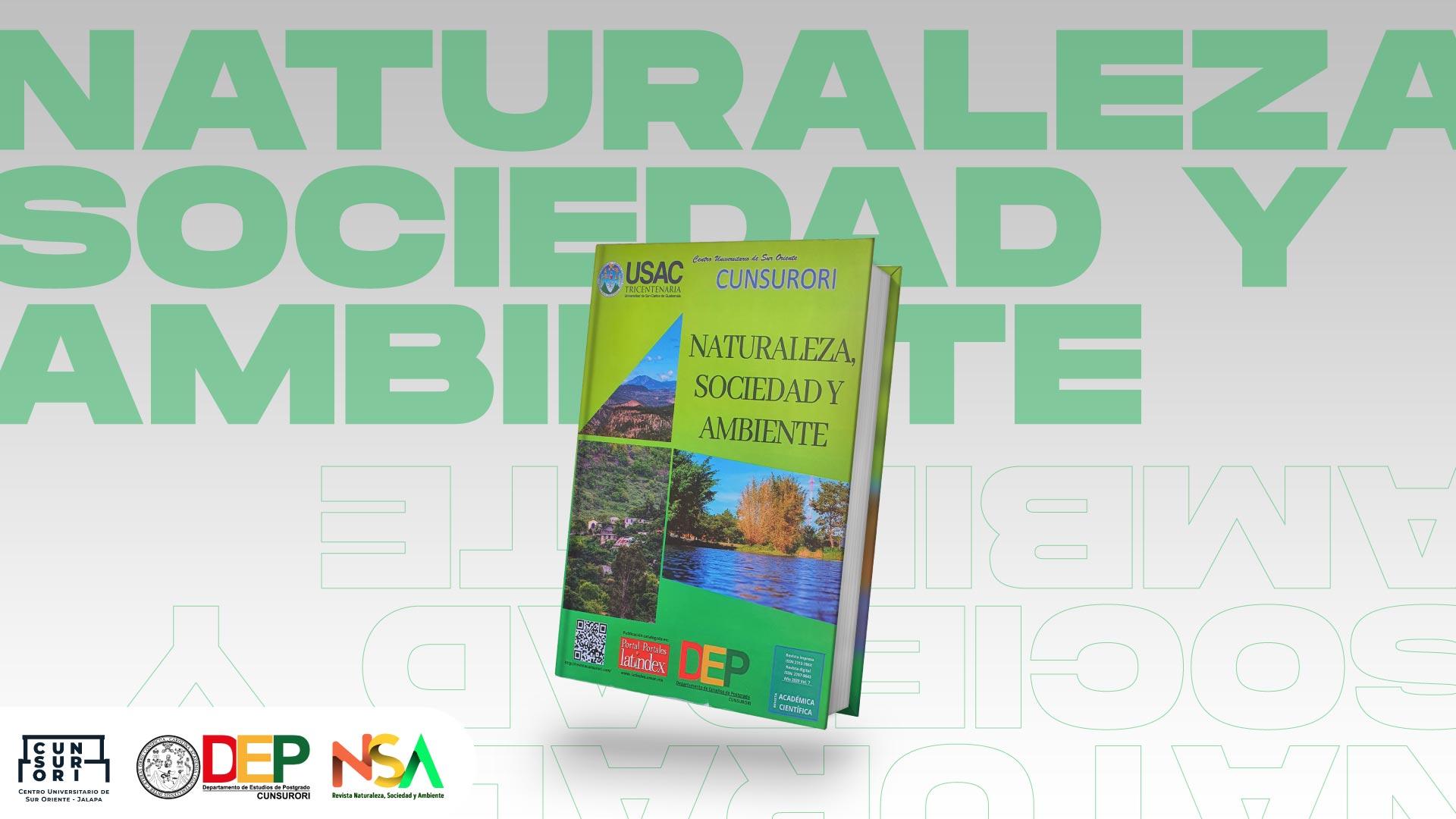 REVISTA NATURALEZA, SOCIEDAD Y AMBIENTE, CUNSURORI