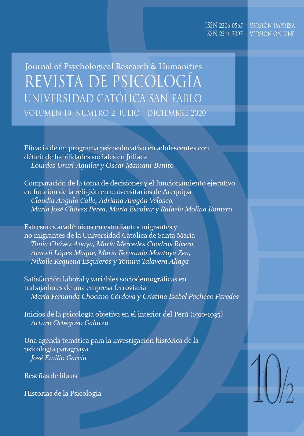 Revista Universidad Católica San Pablo