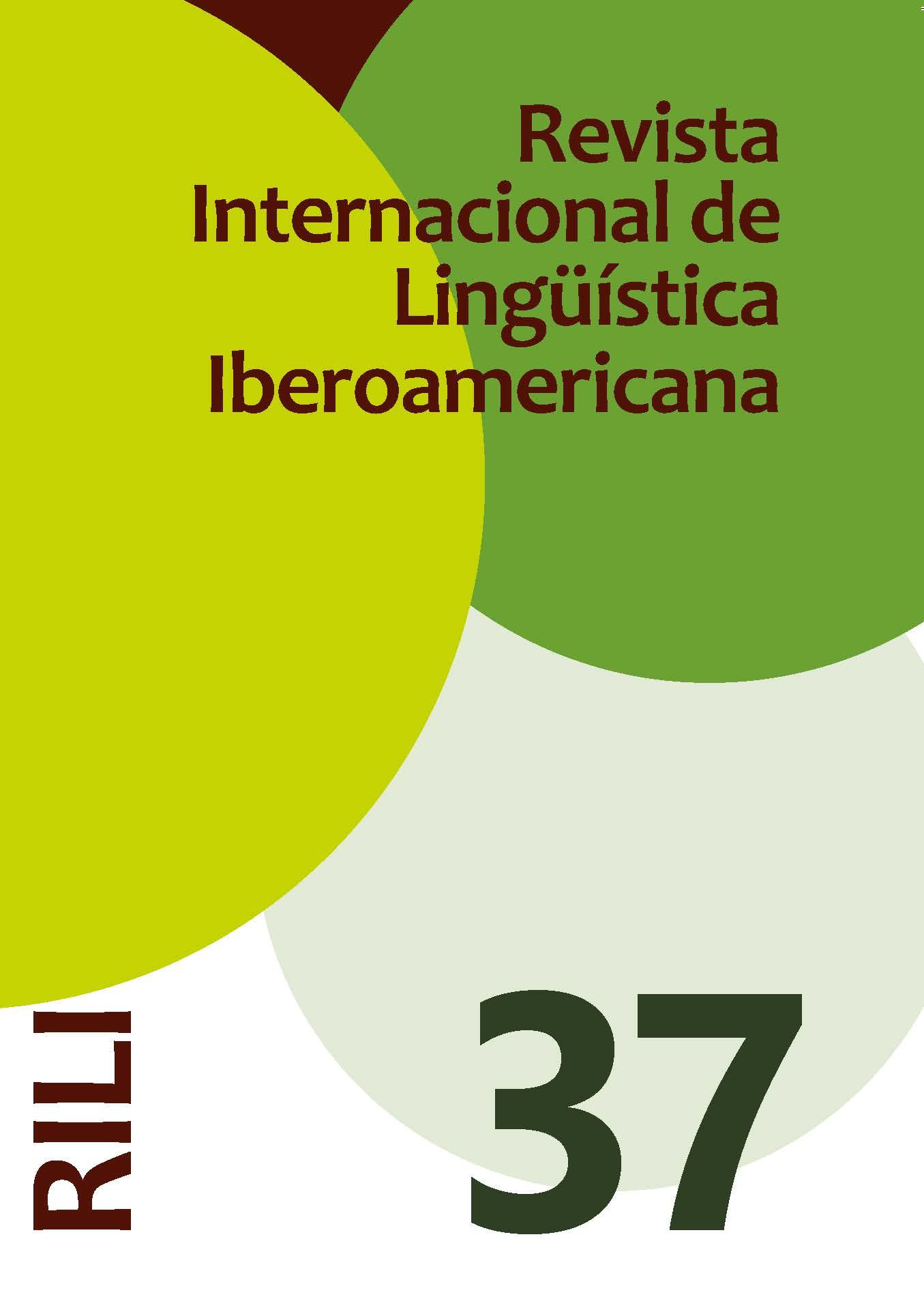Revista Internacional de Lingüística Iberoamericana RILI thumbnail